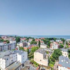 Апартаменты Dom & House - Level Eleven Apartment Sea View Сопот пляж фото 2
