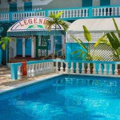 Отель Legends Beach Resort Ямайка, Негрил - отзывы, цены и фото номеров - забронировать отель Legends Beach Resort онлайн бассейн фото 2