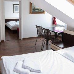 Отель Residence Vysta Чехия, Прага - 2 отзыва об отеле, цены и фото номеров - забронировать отель Residence Vysta онлайн комната для гостей фото 3