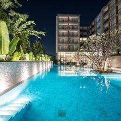 Отель The Park Nine Suvarnabhumi Бангкок бассейн