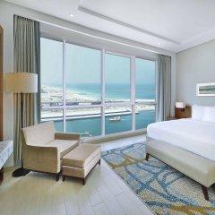 Отель DoubleTree by Hilton Dubai Jumeirah Beach комната для гостей