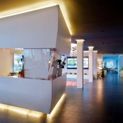Отель Panoramic Hotel Plaza Италия, Абано-Терме - 6 отзывов об отеле, цены и фото номеров - забронировать отель Panoramic Hotel Plaza онлайн интерьер отеля фото 2