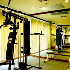 Отель Diamond Cottage Resort & Spa фитнесс-зал фото 2