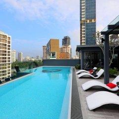 Отель Oakwood Studios Singapore Сингапур, Сингапур - отзывы, цены и фото номеров - забронировать отель Oakwood Studios Singapore онлайн бассейн фото 3