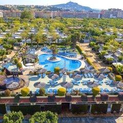 Отель Camping Sunissim La Masia By Locatour Испания, Бланес - отзывы, цены и фото номеров - забронировать отель Camping Sunissim La Masia By Locatour онлайн пляж фото 2