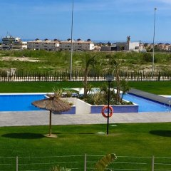 Апартаменты Apartment With 3 Bedrooms in Orihuela, With Wonderful sea View, Pool A фитнесс-зал