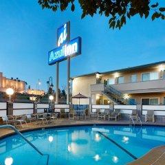 Отель Good Nite Inn West Los Angeles-Century City США, Лос-Анджелес - 1 отзыв об отеле, цены и фото номеров - забронировать отель Good Nite Inn West Los Angeles-Century City онлайн бассейн фото 3