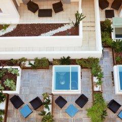 Отель Eden Hôtel & Spa Cannes Франция, Канны - отзывы, цены и фото номеров - забронировать отель Eden Hôtel & Spa Cannes онлайн пляж