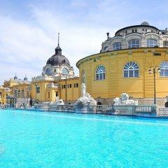 Отель Budapest City Central Венгрия, Будапешт - 2 отзыва об отеле, цены и фото номеров - забронировать отель Budapest City Central онлайн бассейн фото 2
