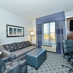 Отель Hampton Inn & Suites Columbia/Southeast-Fort Jackson комната для гостей фото 5