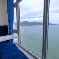 Апартаменты Sunrise Hon Chong Ocean View Apartment Нячанг комната для гостей фото 5