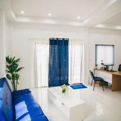 Апартаменты Infinity Bophut Apartments Самуи комната для гостей