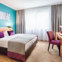 Отель Leonardo Hotel Düsseldorf City Center Германия, Дюссельдорф - отзывы, цены и фото номеров - забронировать отель Leonardo Hotel Düsseldorf City Center онлайн комната для гостей фото 2