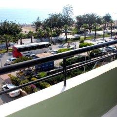 Kleopatra Hermes Hotel Турция, Аланья - отзывы, цены и фото номеров - забронировать отель Kleopatra Hermes Hotel онлайн балкон