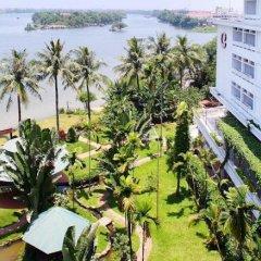 Отель Century Riverside Hotel Hue Вьетнам, Хюэ - отзывы, цены и фото номеров - забронировать отель Century Riverside Hotel Hue онлайн балкон
