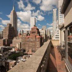 Отель Iberostar 70 Park Avenue США, Нью-Йорк - отзывы, цены и фото номеров - забронировать отель Iberostar 70 Park Avenue онлайн балкон