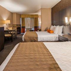 Отель Best Western Plus Rama Inn & Suites сейф в номере