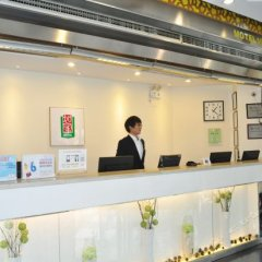Отель Motel 168 Chengdu ShuangQiao Road Inn Китай, Чэнду - отзывы, цены и фото номеров - забронировать отель Motel 168 Chengdu ShuangQiao Road Inn онлайн интерьер отеля