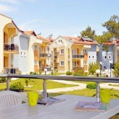 Апартаменты Hisar Garden Apartments Олудениз балкон