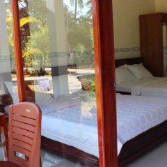 Отель Hoa Nhat Lan Bungalow комната для гостей фото 4