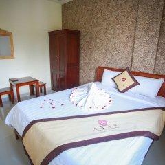 An An Hotel Da Lat Далат сейф в номере