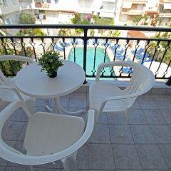 Отель Sarantis Hotel Греция, Ханиотис - отзывы, цены и фото номеров - забронировать отель Sarantis Hotel онлайн балкон