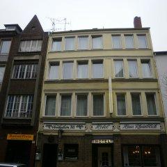 Hotel Haus Rheinblick Дюссельдорф вид на фасад