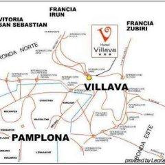 Hotel Pamplona Villava городской автобус