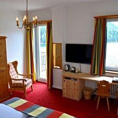 Отель Waldhaus am See Швейцария, Санкт-Мориц - отзывы, цены и фото номеров - забронировать отель Waldhaus am See онлайн удобства в номере