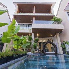 Отель Khong Cam Garden Villas Хойан бассейн
