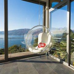 Отель Luxury Italian Lakes Villa With Private Pool, Gym, Bbq, Free Wifi, Lake Views Вербания фото 2