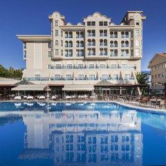 Отель Sultan of Side - All Inclusive Сиде бассейн фото 2