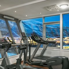 Radisson Blu Polar Hotel Spitsbergen Тромсе фитнесс-зал