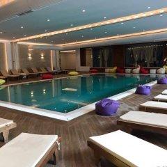 Отель Sandy Beach Resort Албания, Голем - отзывы, цены и фото номеров - забронировать отель Sandy Beach Resort онлайн бассейн фото 3