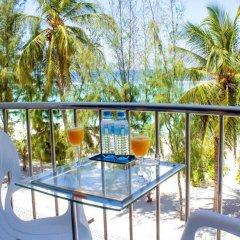 Отель Fuana Inn Мальдивы, Северный атолл Мале - отзывы, цены и фото номеров - забронировать отель Fuana Inn онлайн балкон