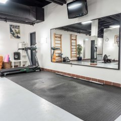 Отель ODENSE Оденсе фитнесс-зал фото 2