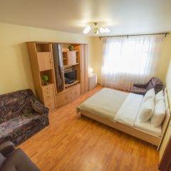 Апартаменты Inndays Apartment on Buninskaya Alleya комната для гостей фото 5