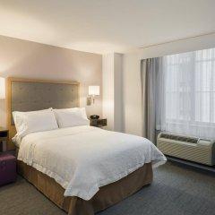 Отель Hampton Inn Manhattan/Times Square South США, Нью-Йорк - отзывы, цены и фото номеров - забронировать отель Hampton Inn Manhattan/Times Square South онлайн комната для гостей фото 3