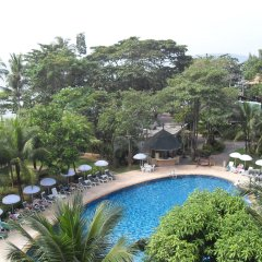 Отель Golden Beach Resort балкон