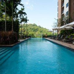 Отель Unixx South Pattaya By Grandisvillas Паттайя бассейн