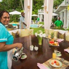Round Hill Hotel & Villas питание фото 3