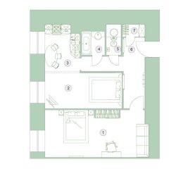 Апартаменты Feelathome на Невском удобства в номере