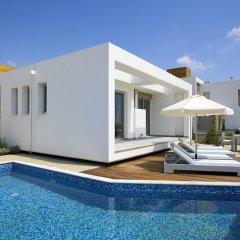 Отель Paradise Cove Luxurious Beach Villas Кипр, Пафос - отзывы, цены и фото номеров - забронировать отель Paradise Cove Luxurious Beach Villas онлайн вид на фасад фото 3