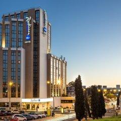 Отель Radisson Blu Hotel Португалия, Лиссабон - 10 отзывов об отеле, цены и фото номеров - забронировать отель Radisson Blu Hotel онлайн вид на фасад