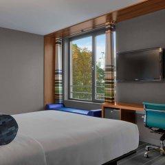 Отель Aloft Brussels Schuman Бельгия, Брюссель - 2 отзыва об отеле, цены и фото номеров - забронировать отель Aloft Brussels Schuman онлайн комната для гостей фото 5