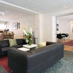 Hotel Copenhagen Apartments интерьер отеля