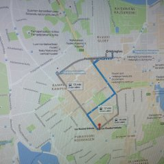 Апартаменты Helsinki South Central Apartments городской автобус