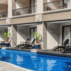Отель Garden Cliff Resort and Spa Таиланд, Паттайя - отзывы, цены и фото номеров - забронировать отель Garden Cliff Resort and Spa онлайн бассейн