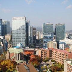 Sejong Hotel балкон