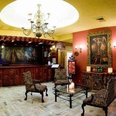 Отель De Mendoza Гвадалахара интерьер отеля
